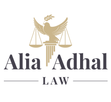 Alia Adhal Law Firm Logo
